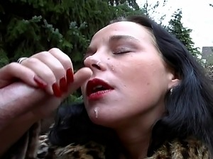 hot outdoor fucking with 