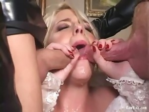 The Bride Double Blowjob