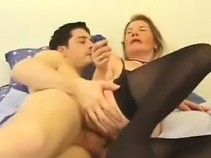 French Mature Getting Anal From Stranger