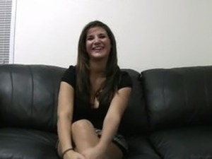 Backroom Casting Couch  Natalie trying to be Austin Kincaid