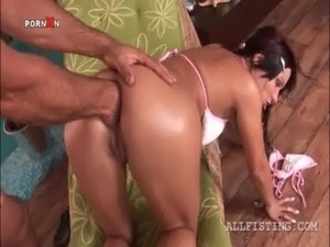 Hardcore ass fisting and fucking for redhead temptress free