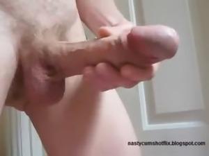 Huge Headed Deformed Monster Cock Has Massive Cumshot