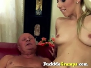 Old dick in tight young chick free
