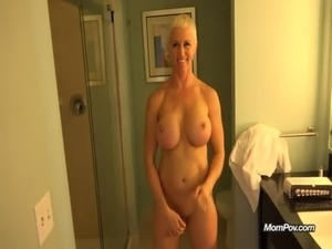 Busty MILF is a true freak free