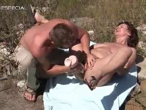Horny MILF gets her hairy muf fucked part3.