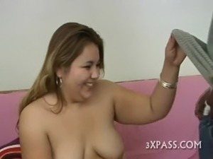 Huge cock for hot plump free