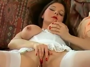 MILF With Pierced Nipples And Pussy Lips