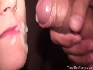 Hot Drunk Chick at Party free