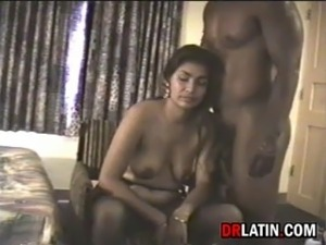 Latin Housewife Fucked By Big Cock