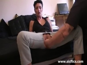 Amateur wife gets a massive pussy fisting attack free