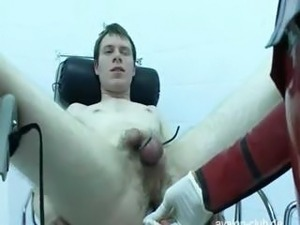 Mistress Gives Young Boy An Enema