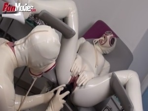FUN MOVIES German Amateur Latex fetish hospital lesbians free