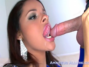 Aria has a secret love for cock. She has great fun sucking and riding Ray...