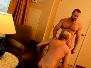 Twink movie of The Boss Gets Some Muscle Ass