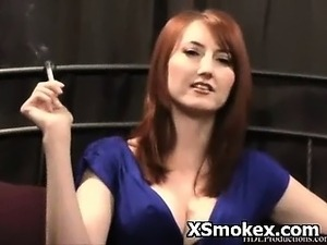 Explicit Pevert Smoking Fetish