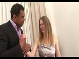 wife gets bbc creampie while husband waits in next room free