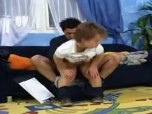 horny midget gets fucked