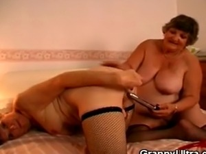 We have these lovely bbw grannies Libby and Carol on this clip. Watch as...