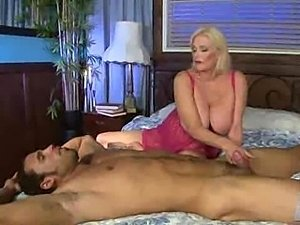Hot Busty Blonde Granny Cougar