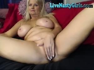 Mature Grandma Nasty Webcam Show 1