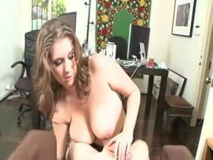 Busty MILF tittyfucks and sucks at once free