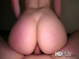 HD POV Hot Brunette wants your Cock deep inside her free