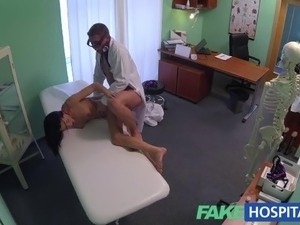 FakeHospital Doctor gives a strong orgasm to fit young lonely girl for her...