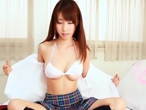 AsianTeen Schoolgirl Does A Softcore Tease