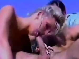 Blonde Whore In A Threesome