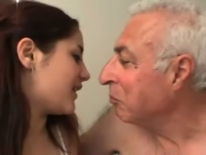 sabrina and an old guy free