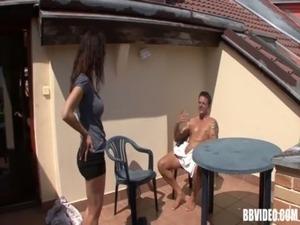 Fat mature german whore fuck outdoors free