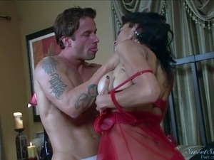 Alan Stafford enjoys in a passionate night he spends with