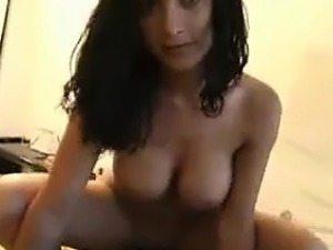 Amateur POV Brunette Babe Fuck and Facial