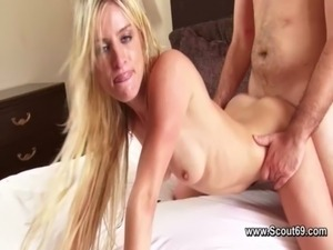 Young Teen tricks in Fake Casting with Hardcore for Modeljob free