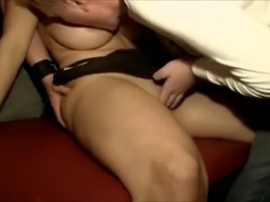 German Big Boobs Gangbang Whore gets fucked by a bunch of horny men
