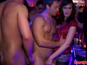 Euro amateur party sluts kinky sex party in discotheque