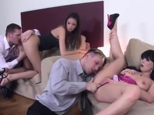 Kitty Jane Ally Style Czech group sex porn HD