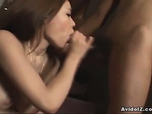 Hot busty big tit Japanese nun groupsex