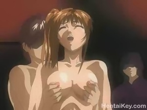 Hardcore action from this group of lustful guys as they fuck these nasty...
