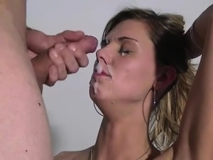Casting Blonde With GoPro POV