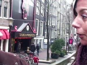 Real blonde dutch hooker gets oralsex