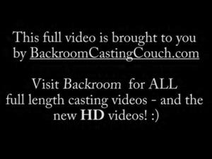 Russian Teen Casting - Full Backroom Video free