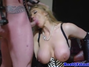 Real mistress housewife gets fucked roughly by lucky dude