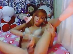 Big Cock Big Tits Asian Tranny