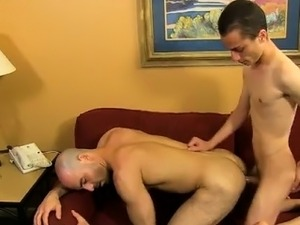 Amazing gay scene He gets Phillip to fellate his man sausage