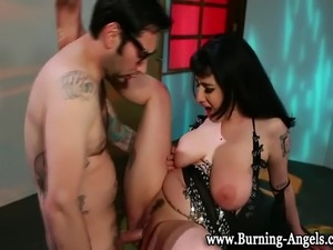 Tattoo emo fetish goth punk slut pussy fucked by horny guy