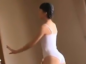 Softcore Ballet Dancing With An Asian Girl