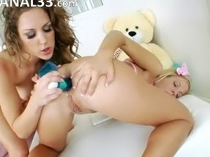 babysitters destroying opened assholes