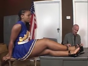 Tara - Ebony Cheerleader free