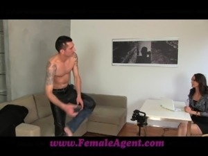 FemaleAgent Czech gigolo tests her skills free